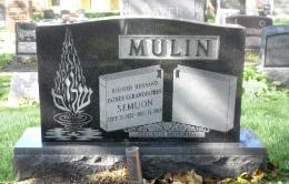 New Light Cemetery Mulin gravesite