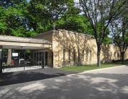 New Light Cemetery Mandel Chapel building