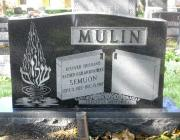 New Light Cemetery gravesite for Mulin
