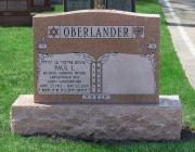 New Light Cemetery gravesite for Oberlander