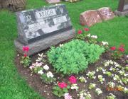 New Light Cemetery gravesite for Reich