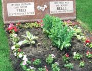 New Light Cemetery gravesite for Rosler