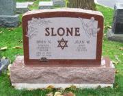 New Light Cemetery gravesite for Slone