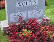 New Light Cemetery gravesite for Wolffs